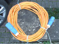 Caravan Electric Hook Up Cable.