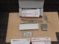 2 Dorma TS 72. Heavy Duty Rack and Pinion door closers. (New in boxes)