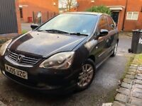 Excellent 05 Honda Civic 1.6 Black, MOT Until End of May
