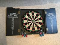 **Dart Board For Sale, with Steel Darts**