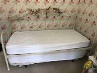 Laura Ashley Alice Day Bed including Mattresses Used but Good Condition