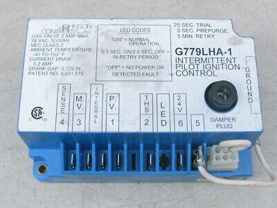 Johnson Controls G779lha-1 Intermittent Pilot Ignition Control