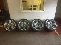 mercedes sl63 amg alloys