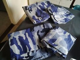 Boys duvet cover and pillowcase set x 2 single set