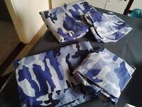 Boys duvet cover and pillowcase set x 2 single set