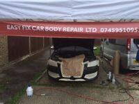 Mobile Car Body Repair in Basingstoke & Hampshire