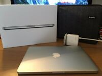 "APPLE MACBOOK PRO WITH RETINA 13"" Late 2015 with 2 YEARS APPLE WARRANTY // 2.7GHz, 8GB, 128GB Flash"