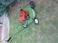 A Hatterette rotary lawnmower