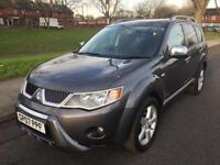 2007 MITSUBISHI OUTLANDER WARRIOR DI-D (7 SEATS) 2.0L DIESEL (4WD OR 2WD) ONE OWNER FORM NEW (FSH)