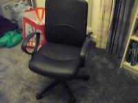 Black Computer Swivel Chair