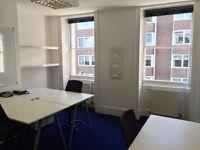 5 Desk Office | Garden | TCR Tube 4 minutes | Own 150 MEG feed | No Bills | Second Floor | W C 1