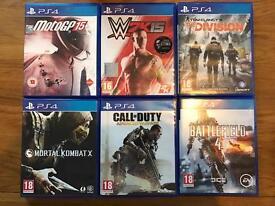 PS4 Games Bundle for Sale