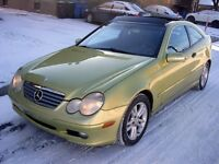 2003 Mercedes-Benz C-Class Kompressor Sport (WARRANTY+$50/WEEK)