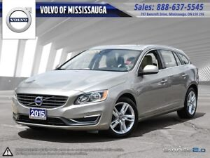 2015 Volvo V60 T5 AWD Premier from 0.9%-6Yr/160,000- PreOwned Wa