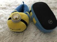 3D Minion slippers size 10/11
