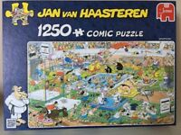 1250 piece Comic Puzzle by Jan Van Haasteren