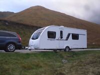 Swift Challenger sport caravan mover and awning 4 Berth immaculate condition full service history