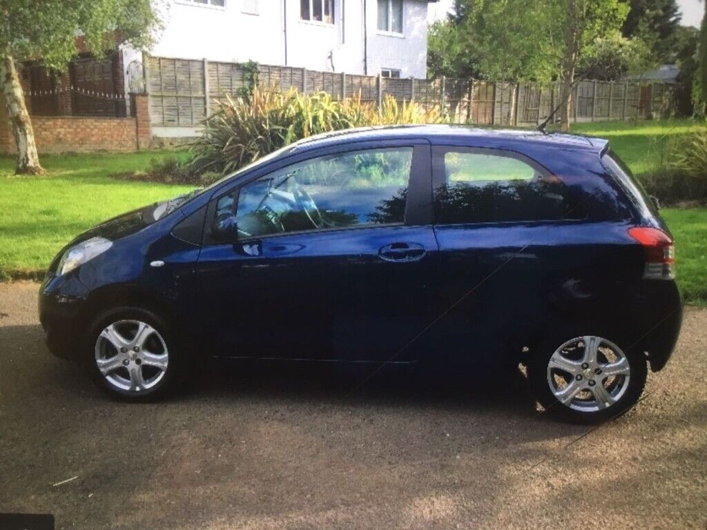 Toyota, YARIS, Hatchback, 2011, Manual, 998 (cc), 3 doors Blue