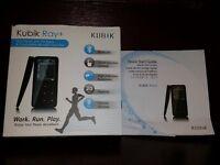 Kubik Ray+ Bluetooth 8GB MP3 Player - as new!
