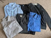 Assortment of great quality shirts and long sleeved tops