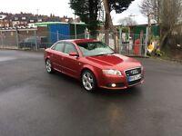 Audi A4 2.0 tdi s line 140 2007 12 months mot