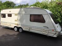 Fleetwood colchester twin axel 5 berth 1995