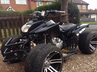 250cc road legal Quad