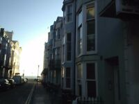 Studio flat on lower ground floor. Rent includes council tax and water rates. Furnished. Kemptown