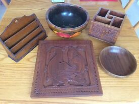 Collection of treen