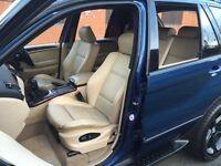 * Bargain * 2004 BMW X5 4.4 i Sport Auto Petrol 5dr Estate F/BMW/S/H - SUV - 4x4 msport can get LPG