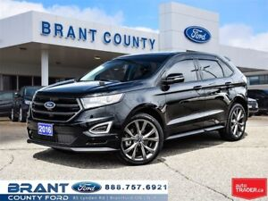 2016 Ford Edge Sport - CLEAN CARPROOF, ONE OWNER!!