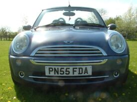 Summer is here, could it be time for a convertible? Very attractive BMW Mini One 1.6i (55 reg)