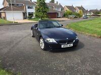 05 BMW Z4 se convertible long mot service history £3795