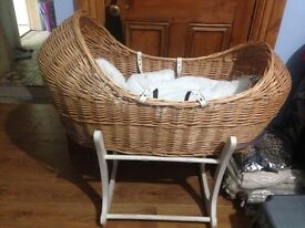 Mothercare baby Moses basket
