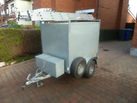BRONISS GALVANISED BOX TRAILER 5' x 3'