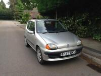 2000 Fiat SEICHENTO 1.0 Manual Petrol Service History 10 Months MOT