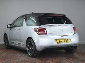 DS DS 3 1.6 THP DSport [Bluetooth, Parking Sensors] 2dr (silver) 2015