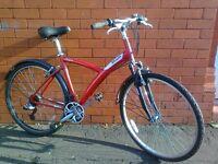 Bitwin road - mountain bike - Aluminium Frame - Mudguard -Very light drive !!!