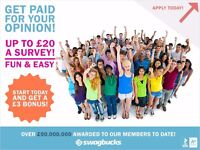 Work From Home Part Time - Earn up to £300/month In Extra Income – Take Surveys & Watch Videos!