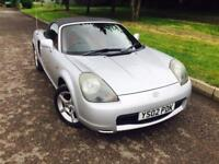 TOYOTA MR2 ROADSTER VVTI 2002 convertible £1395