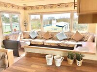 STATIC CARAVAN FOR SALE, SITED NEAR CLITHEROE IN LANCASHIRE. DECKING INCLUDED!!