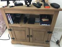 Pine tv unit excellent condition