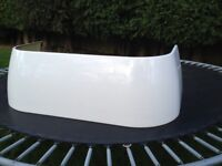 Bath panel, White, D-shape