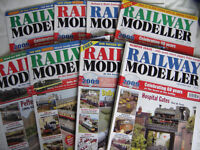 OVER 50 RAILWAY MODELLER MAGAZINES