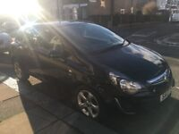 Vauxhall Corsa 1.2 i 16v SXi 3dr Black 2013 Great Runner Low Mileage