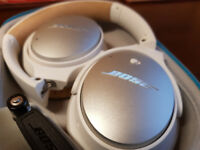 Bose QC25 Headphones as new, for both Iphone and Android