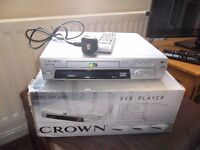 crown DVd player