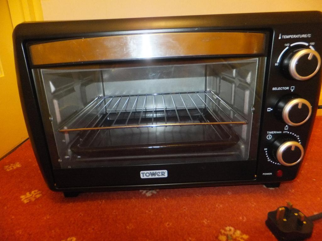 Mini Oven Amp Grill Electric Tower T14012 23 Ltr Caravan