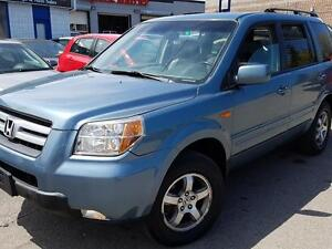 2006 Honda Pilot EX-L  8SEATS, SUNROOF, ALLOYS,P.GROUP ,CERT$747