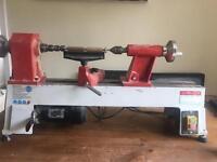 Axminster lathe plus all pen turning equipment and blanks
